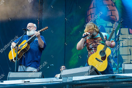 Kyle Gass, Jack Black. Kyle Gass and Jack Black of Tenacious D perform on day three of Lollapalooza in Grant Park, in Chicago