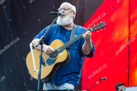 Kyle Gass of Tencacious D performs on day three of Lollapalooza in Grant Park, in Chicago