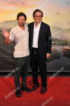 Christian De Sica and Brando De Sica