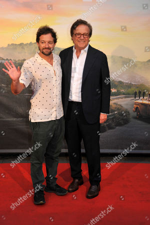 Stock Picture of Christian De Sica and Brando De Sica