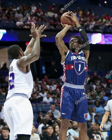 Editorial picture of Big3 Basketball  Tri-State vs the Ghost Ballers, Rosemont, USA - 29 Jul 2019