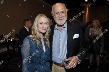 Stock Picture of Paula Malcomson, Gerald McRaney. Paula Malcomson, left, and Gerald McRaney attend the 35th annual TCA Awards during the Summer 2019 Television Critics Association Press Tour at the Beverly Hilton Hotel, in Beverly Hills, Calif