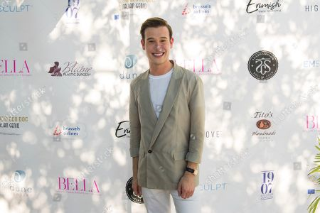 Tyler Henry attends Bella Magazine's 7th annual White Party at Southampton Social Club, in Southampton, NY
