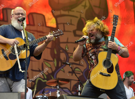 Stock Picture of Tenacious D - Kyle Gass and Jack Black
