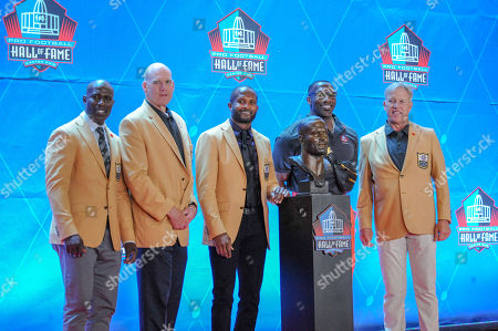 Editorial photo of NFL Pro Football Hall of Fame Enshrinement, Canton, USA - 03 Aug 2019