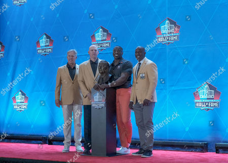 Editorial image of NFL Pro Football Hall of Fame Enshrinement, Canton, USA - 03 Aug 2019