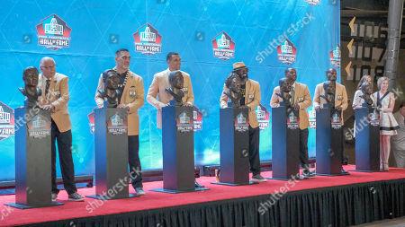 Editorial image of NFL Pro Football Hall of Fame Enshrinement, Canton, USA - 03 Aug 2019