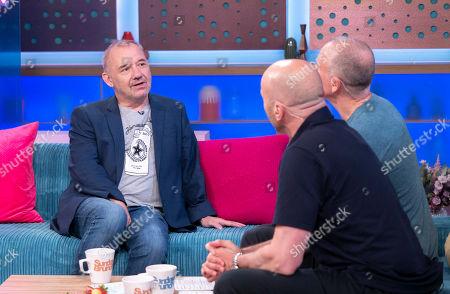 Bob Mortimer, Tim Lovejoy and Simon Rimmer