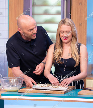 Stock Picture of Simon Rimmer and Emily Head