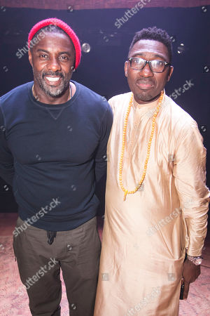 Stock Picture of Idris Elba (Author) and Kwame Kwei-Armah (Author/Director)
