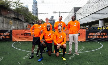 Editorial picture of GambleAware - Bet Regret Cup, Powerleague, London, UK - 04 Aug 2019