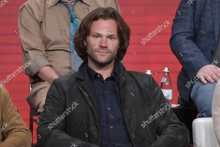 "Jared Padalecki participates in The CW ""Supernatural: Final Season"" panel during the Summer 2019 Television Critics Association Press Tour at the Beverly Hilton Hotel, in Beverly Hills, Calif"
