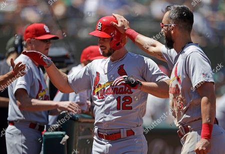Editorial image of Cardinals Athletics Baseball, Oakland, USA - 04 Aug 2019