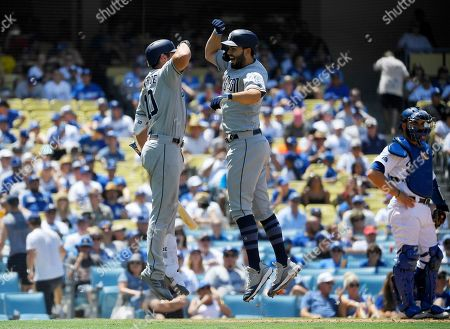 Editorial picture of Padres Dodgers Baseball, Los Angeles, USA - 04 Aug 2019