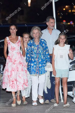 Spanish Royals out and about, Palma