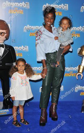 Scarlette Douglas and her kids