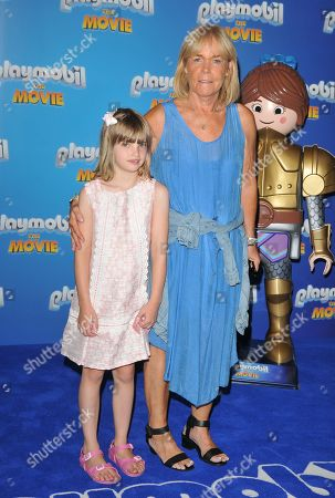 Linda Robson and her granddaughter