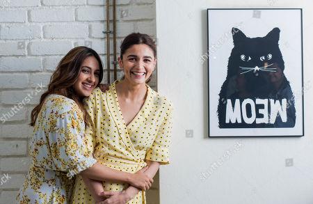 Akansha Ranjan Kapoor and Alia Bhatt