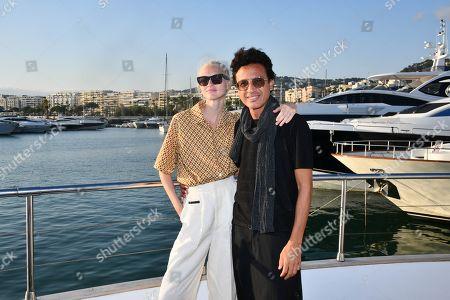 Yulia Lobova and Omar Harfouch