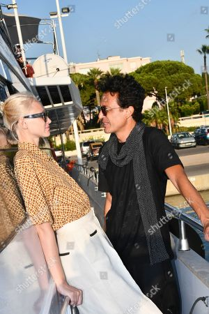Stock Picture of Omar Harfouch and Yulia Lobova