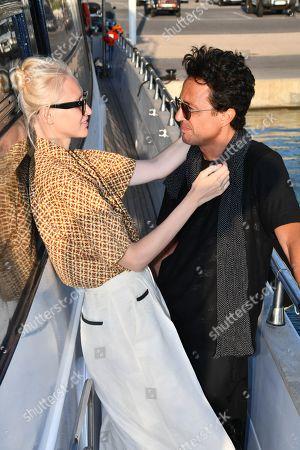 Editorial photo of Omar Harfouch and Yulia Lobova photocall, Cannes, France - 02 Aug 2019