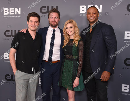 Ben Lewis, Stephen Amell Katherine McNamara and David Ramsey
