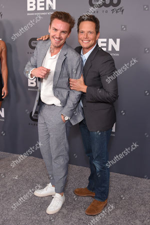 Stock Photo of Riley Smith and Scott Wolf