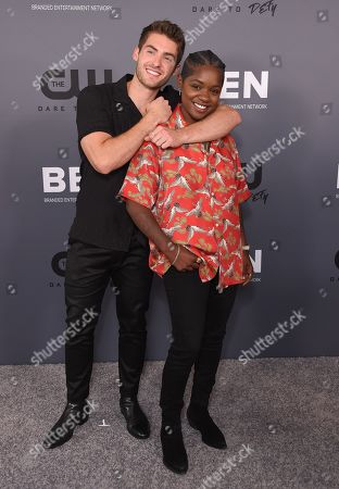 Stock Photo of Cody Christian and Bre-Z