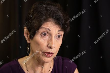 Stock Picture of Diane Foley, mother of journalist James Foley, who was killed by the Islamic State terrorist group in a graphic video released online, speaks to the Associated Press during an interview in Washington