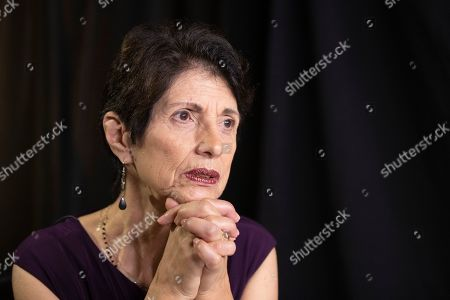 Stock Photo of Diane Foley, mother of journalist James Foley, who was killed by the Islamic State terrorist group in a graphic video released online, speaks to the Associated Press during an interview in Washington
