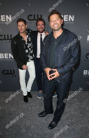 Stock Picture of Jensen Ackles, Stephen Amell, Jared Padalecki, Misha Collins