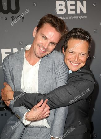 Stock Picture of Riley Smith, Scott Wolf