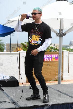Editorial photo of Hits 97.3 pool party, Intercontinental Hotel, Miami, Florida, USA - 04 Aug 2019