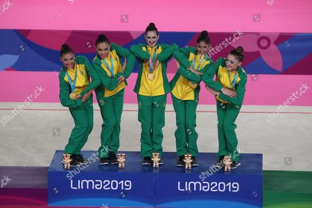 Editorial picture of Lima 2019 Pan American Games, Peru - 05 Aug 2019