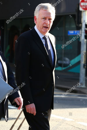 Editorial image of Lawyer for the liquidators, of Queensland Nickel, Shane Doyle, arrives to the Supreme Court in Brisbane, Australia - 05 Aug 2019