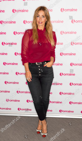 Editorial photo of 'Lorraine' TV show, London, UK - 05 Aug 2019