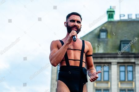 Editorial picture of Pride Amsterdam, Dam square, Netherlands - 04 Aug 2019