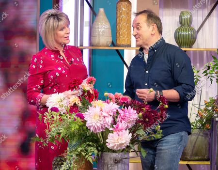 Ruth Langsford with Rob Van Helden