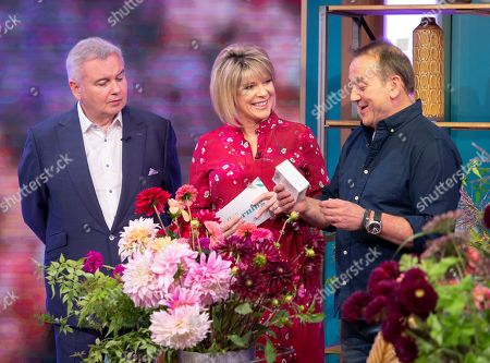 Eamonn Holmes and Ruth Langsford with Rob Van Helden