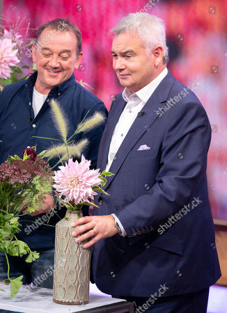 Eamonn Holmes and Rob Van Helden