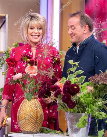 Stock Image of Ruth Langsford with Rob Van Helden