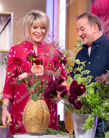 Stock Picture of Ruth Langsford with Rob Van Helden