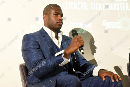 Daniel Dubois during a Press Conference at the BT Tower on 5th August 2019