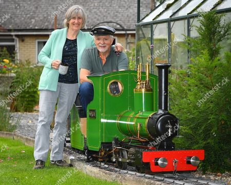 Stock Photo of Steve Bates and wife Beryl Bates