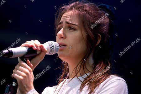 Stock Photo of Dodie, (Dodie Clark) Garden stage