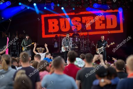 Busted - James Bourne, Charlie Simpson and Matt Willis