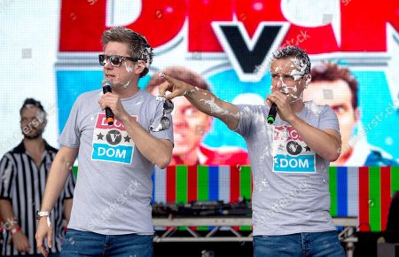 Stock Picture of Dick and Dom