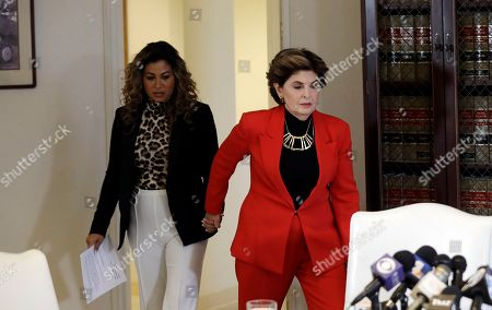 Gloria Allred, Lizzette Martinez. Attorney Gloria Allred, right, and Lizzette Martinez one of R&B singer R. Kelly's alleged victims hold a joint news conference, in Los Angeles