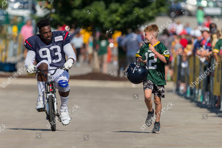 Editorial picture of Texans Packers Football, Green Bay, USA - 05 Aug 2019
