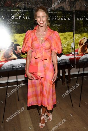 """Beth Ostrosky Stern attends a special screening of """"The Art of Racing in the Rain"""" at The Whitby Hotel, in New York"""